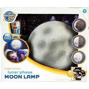 Discovery Kids Lunar Phase Moon Lamp MULTI Remote control