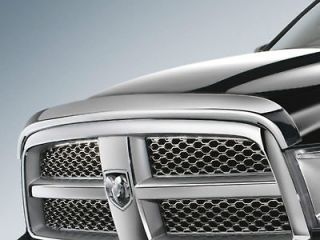 2012 Dodge Ram 2500 Chrome Bug Shield, Air Deflector, Mopar Accessory