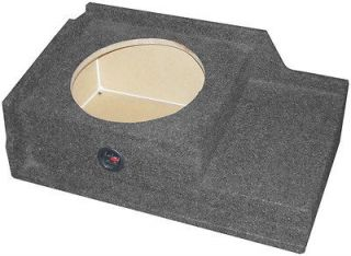 10 SUBWOOFER MDF 99+ FS CHEVY GMC EXT CAB DOWNFIRING UNDERSEAT BOX