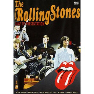 RARE ROLLING STONES DVD  LIVE ON TV  1964, 1965, 1966, 1967, 1969