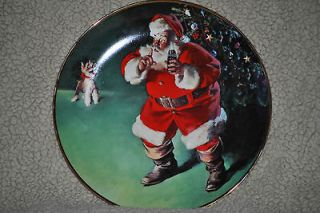 THAT REFRESHES,1994 Franklin Mint Coca Cola Collectors Plate #HA3126