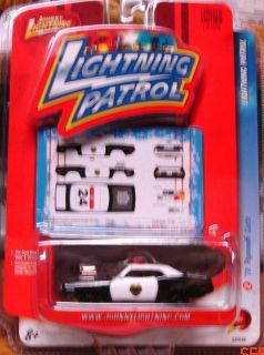 Johnny Lightning 1970 Plymouth Cuda Lightning Patrol Cop Car 1 Of