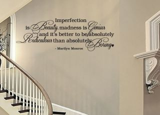 vinyl wall quotes in Decals, Stickers & Vinyl Art