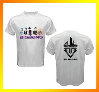 Read Description* ANIME KPOP BIGBANG ALIVE Tour 2 Sides White T Shirt