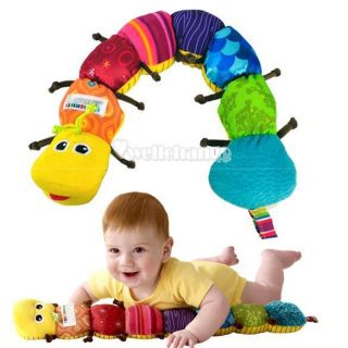 W3LE Baby Child Popular Toy Musical Inchworm Soft Lovely Developmental
