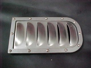 BOLT IN LOUVER KIT USA MADE 6 LOUVERS STEEL HOT ROD RAT JEEP TRUCKS