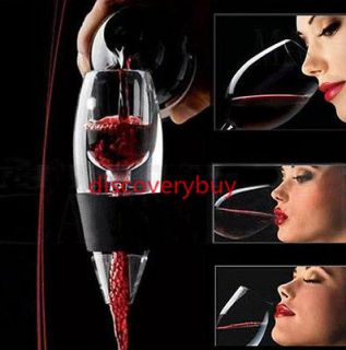New Magic Decanter Red Wine Aerator Essential Set Gift J
