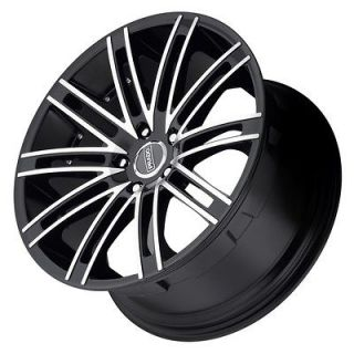 18 inch Prado Arcana Staggered black wheels rim 5x4.5 / MAZDA RX 8