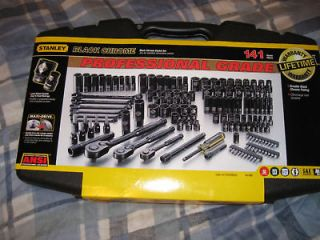 stanley black chrome tool set in Wrenches