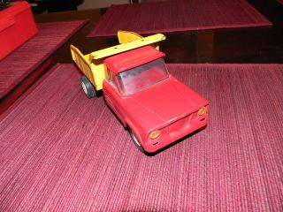 Vintage 1960s OLD Blue Steel Mound Minn Tonka Toys Jeep Truck Car Toy