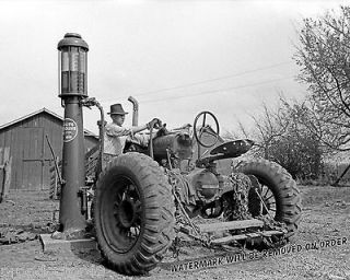 Photograph Vintage International Harvester Farmall Tractor Iowa 1940