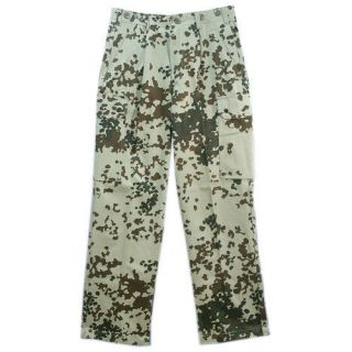 Original german army pants desert tropical camo flecktarn surplus