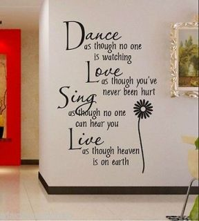 vinyl wall art in Decals, Stickers & Vinyl Art