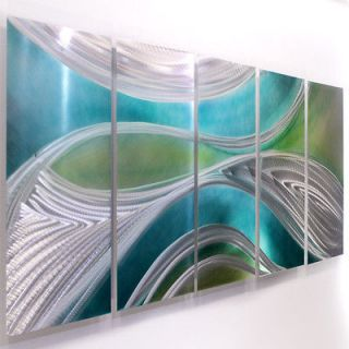 Modern Metal Abstract Wall Art Painting Sculpture Decor Mystic By Jon