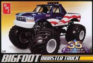 AMT 1/25 SCALE BIGFOOT MONSTER TRUCK PLASTIC MODEL KIT BRAND NEW IN