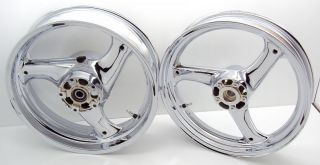 rf 600r chrome wheels motorcycle wheels accessories chrome rims hub