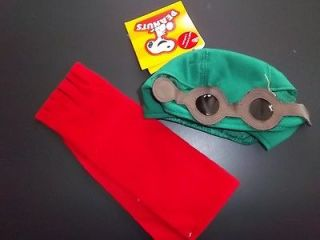 Bear BABW NWT Christmas Clothing PEANUTS SNOOPY Flying Ace Lot Pilot