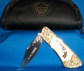 Franklin Mint Collectible COLT Knife   SINGLE ACTON ARMY PEACEMAKER