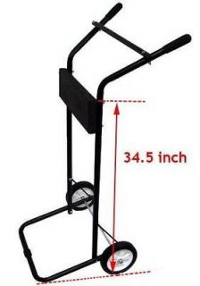 85 LB OUTBOARD BOAT SMALL MOTOR STAND LIGHT DUTY CARRIER CART DOLLY