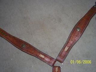 Trophy Horse Barrel Racing Breast Collar PAPPY 2000 Rodeo Saddle