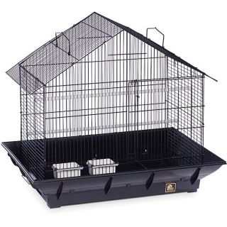 Prevue Pet Products Black Clean Life House Bird Cage   Black