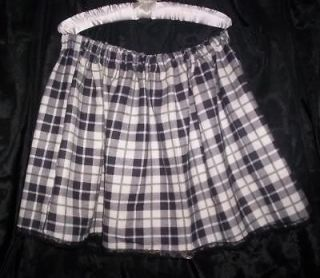 CUSTOM MADE ADULT SISSY WOMENS MENS CD TV GREEN PLAID SCHOOL GIRL MINI