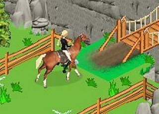 Barbie Horse Adventures Blue Ribbon Race Nintendo Game Boy Advance