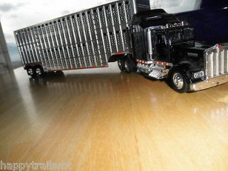 Kenworth 18 Wheel SEMI TRUCK Cattle Trailer Plastic Large Play With
