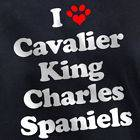 LOVE CAVALIER KING CHARLES SPANIELS T SHIRT puppy dog