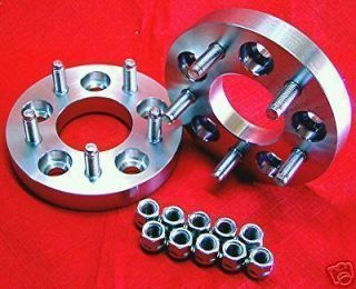 Chevy Corvette 1 (6061 T6 BILLET) WHEEL SPACERS ADAPTERS (Fits