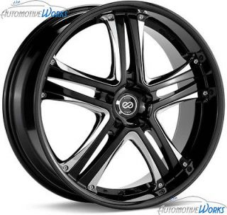 40mm Black Chrome Rims Wheels Inch 18 (Fits 2012 Chevrolet Malibu