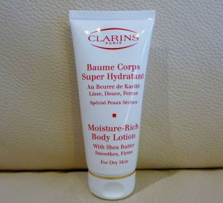 CLARINS Moisture Rich Body Lotion with Shea Butter, Smoothes, Firms