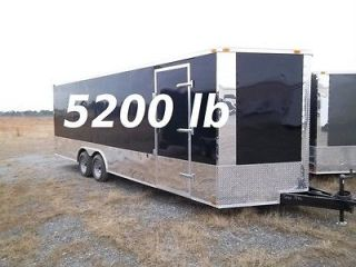 5x24 Commercial Duty Enclosed Cargo Trailer Car Hauler Racing 102x24