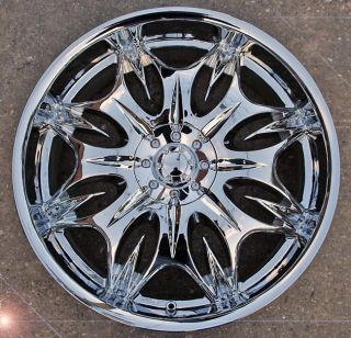 INCUBUS JINX 716 20 CHROME RIMS WHEELS LINCOLN CONTINENTAL FORD