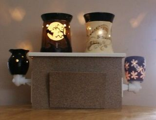 Wide Base Table Top Display w/ Brochure Holder for Scentsy Warmers