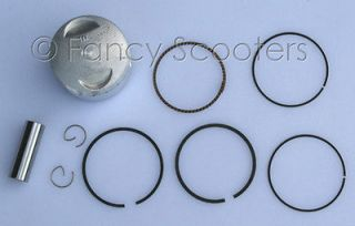 Piston Ring Set for ATVs, Dirt Bike, Diablo Chopper 125cc Engine