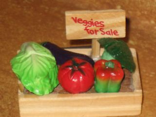Veggies For Sale Refrigerator Magnet Crate Of Veggies