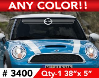 mini cooper decals in Decals, Emblems, & Detailing