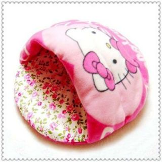 NEW Half Covered Pink HelloKitty Dog Cat Pet Bed