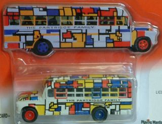 THE PARTRIDGE FAMILY  Bus  164 Die Cast Model Version 2