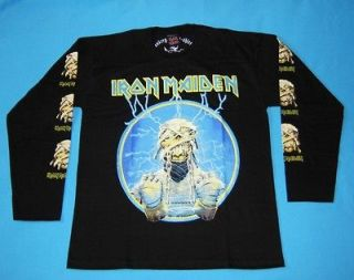 iron maiden powerslave t shirt in Clothing,