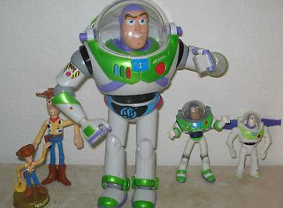 Lot Disney Pixar TOY STORY action figures Talking 12 Buzz Lightyear