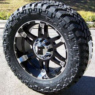 WHEELS RIMS & 33 NITTO TRAIL GRAPPLER DODGE RAM 1500 DAKOTA DURANGO