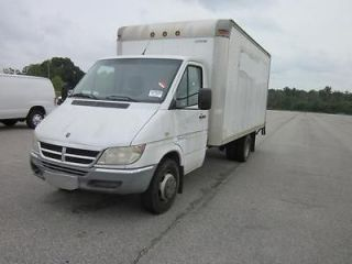 Dodge  Sprinter 14 ft box 2005 Dodge Sprinter 3500 Box truck. 158 wb