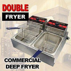 double deep fryer in Business & Industrial