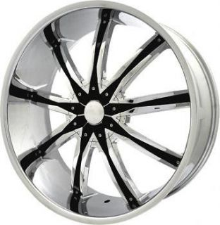 22 inch Elr20 Chrome wheels rims Cadillac Deville DTS