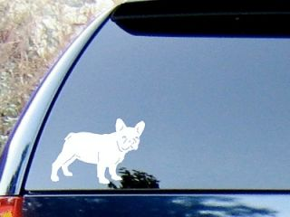 French Bulldog Vinyl Decal Sticker / Color   HIGH QLTY