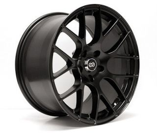 ENKEI RAIJIN Black 18x8 5x100 +35 TUNING Series Wheel/Rim