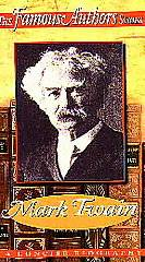 The Famous Authors Series   Mark Twain VHS, 1996