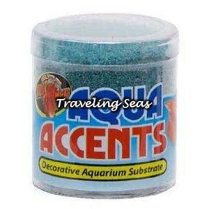 Med Aqua Accents Terminator Teal Betta Fish Aquarium Gravel Decoration